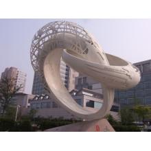 Outdoor Gartendekoration Steinschnitzerei Marmor abstrakte Granit Skulptur