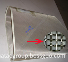 Stainless Steel Cylinder Mould Wire Net