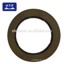 Fabrik Benutzerdefinierte Baumaschinen Ausrüstung Teile Reibungsplatte für KOMATSU 714-07-12670