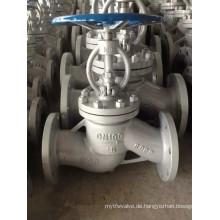 Kohlenstoffstahl-Flansch-Kugelventil für die Industrie (J41W)