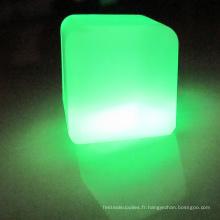 Glaçon rougeoyant en plastique à éclairage moderne LED?