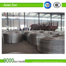 Bare 1370 Type, ISO Certificate Aluminum Wire Rod 9.5mm