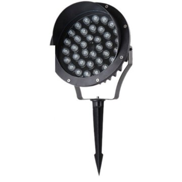 Dimmable Aluminum Black CREE LED Spike Light 36W