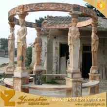 Outdoor Garden Nature Marble Gazebo For Sale