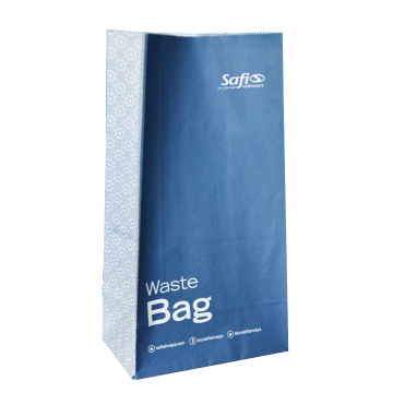 Sac en papier anti-air enduit de colle double