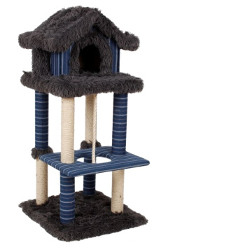 China Factory Great Price Easy To Put Customized Cat Climbing Tree Cat Tower Tree for Large Cat