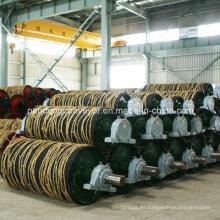 Polea de transmisión del transportador de correa / Tambor de transmisión / Tambor de acero