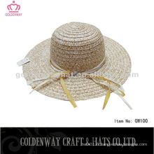 Les plus récents chapeaux souples de dames chapeaux de soleil de plage d'été en gros
