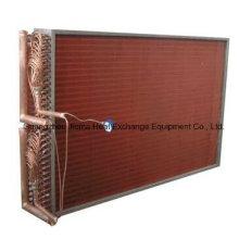 Fin Tube Typ Kupferrohr Luft Wärmetauscher für Luftkühlung