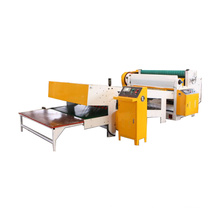 Reel paper sheet cutter/single facer production line making machine