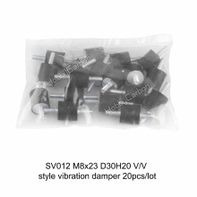 High Quality M8*23 D30H20 V/V Silicone and Generator Vibration Damper for Cummins Engines