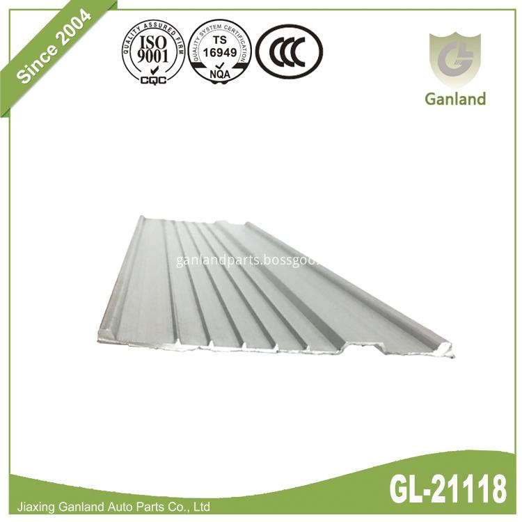 Aluminum Guide Rail Extrusion GL-21118