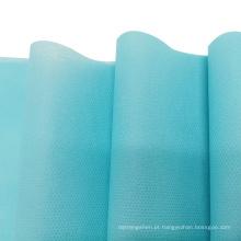 Tecido não tecido amplo spunbond para uso médico