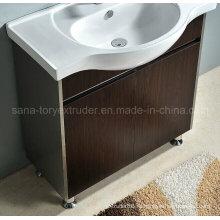 Пожаробезопасная доска пластмассы WPC для кухни и доска шкафа ванной комнаты