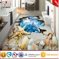 Revestimento 3d para a telha do banheiro da porcelana telha de assoalho cermica