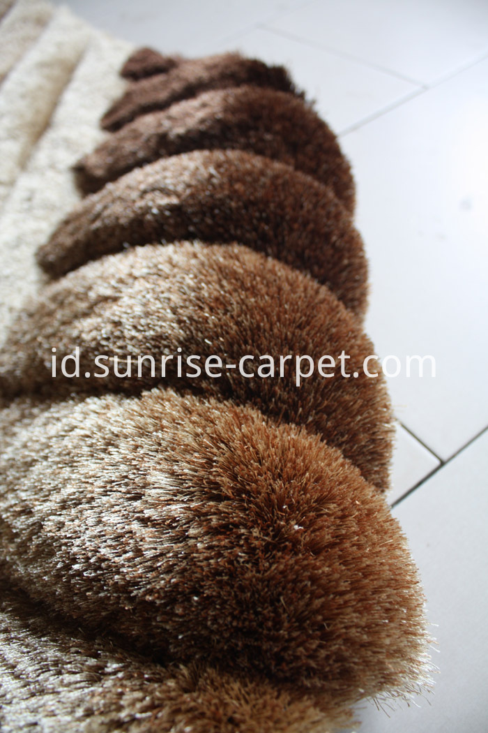Tufted 3D Carpet Area Rug