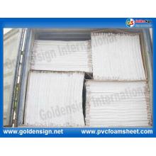 Extrudiertes weißes und hartes PVC-Blatt
