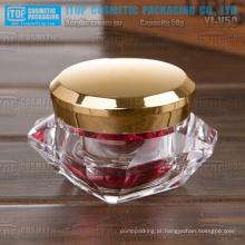 Frasco de diamante YJ-V50 50g elegante e inovador cristal acrílico material 50g