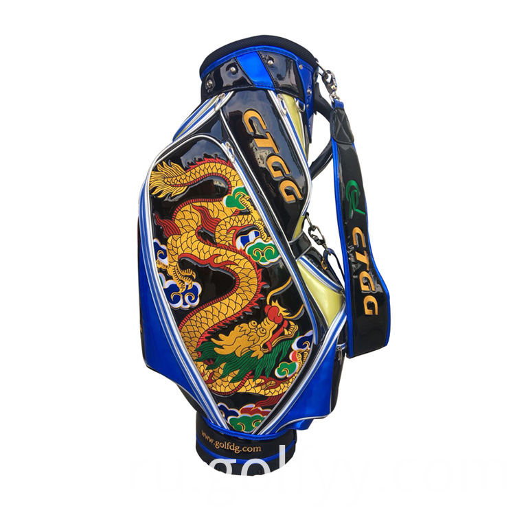 9 Inch PU Golf Bag
