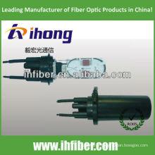 3 In - 3 Out Dome / Vertical Fiber Optic Splice Closure