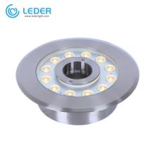 LEDER Уличный светодиодный светильник для бассейна из нержавеющей стали 15 Вт