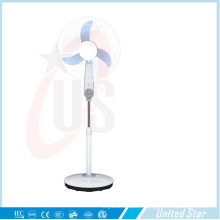 16 Inch 12V Rechargeable/DC Plastic Stand Fan (USDC-466)