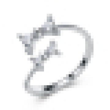 Girl′s 925 Sterling Silver Cute Bow Opening Ring Valentine′s Day Gifts