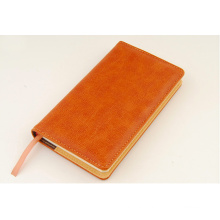 Assorted Color Soft PU Leather A6 Agenda Notebook Planner Organizer