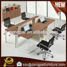 Fashion 4 clusters office workstation china factory