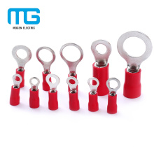 Mejor precio RV Red Cobre 22-16 Terminal con anillo aislado
