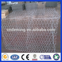 Good Quality Long Services Time High Zinc Hot Dipped Galvanized Weaved Hexagonal Hole Gabion Box