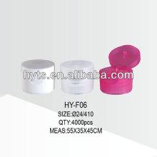 24/410 Kunststofftube Flip-Top-Kappe