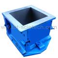 Four Parts Cast iron Cube Moulds