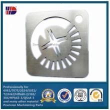 6061-T6 Aluminium Alloy Laser Cutting Machine Parts