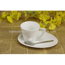 Фарфоровые кофейные кружки и блюдца оптом оптом