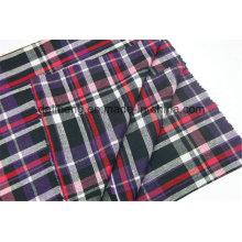 T/C Yarn Dyed Checks Clothing Wholesale Shirt Fabric