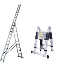 hot sale aluminium industrial combination ladders with EN131
