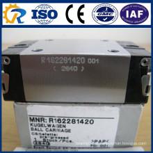 Rexroth CNC Peças Bloco Runner R162281420 Linear Rails guia bloco