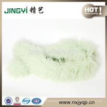 Wholesale Ningxia Tibet Curly Sheepskin Fur Scarf