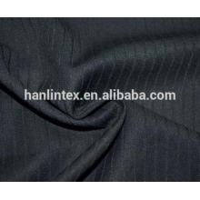 Tissu TR com base em pinstripe de melhor preço para roupas e shirting para homens