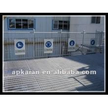 Anping hot dipped galvanized steel flooring grating manufacturer supplier