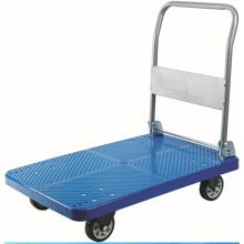 Пластиковая ручная тележка (895X590 мм) (синий)