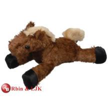 Kundengebundener Soem-Entwurf! Weiches Spielzeug braunes Mini-Plüschpferd
