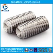 In stock Stainless steel hexagon socket set screw