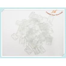 Placa de plástico para colgador de ropa