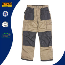 Hombres de construcción Woker Workwear duradera trabajo de carga pantalones
