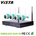 4CH 960p exterior Wifi Ip câmera com NVR Wireless Kit