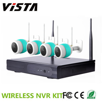 720P Outdoor CCTV 4ch Wireless Yoosee IP Camera NVR Kit