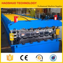 Máquina formadora de rollo de doble capa para cubiertas metálicas y paneles de teja
