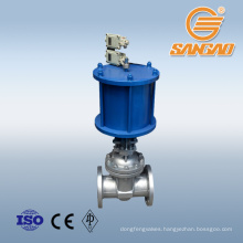 asme a216 wcb 20inch gate valve 304 800 gate valve with pneumatic actuator